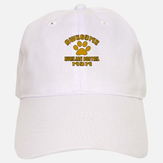 Awesome Kurilian Bobtail Mom Designs Baseball Baseball Cap