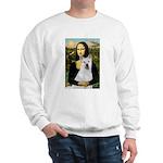 MonaLisa-AKita2 Sweatshirt