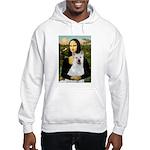 MonaLisa-AKita2 Hooded Sweatshirt