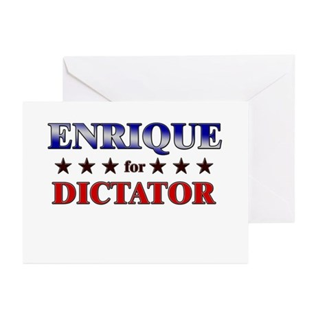 ENRIQUE for dictator Greeting Cards (Pk of 20)