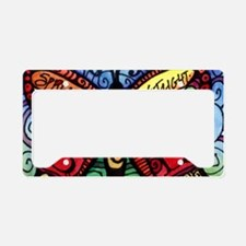 Cute Uplifting quotes License Plate Holder