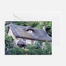 English Cottage Bath - Greeting Cards (20)