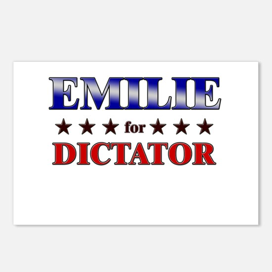 EMILIE for dictator Postcards (Package of 8)