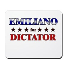 EMILIANO for dictator Mousepad