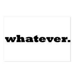 Whatever. Postcards (Package of 8)