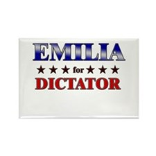 EMILIA for dictator Rectangle Magnet