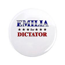 "EMILIA for dictator 3.5"" Button"