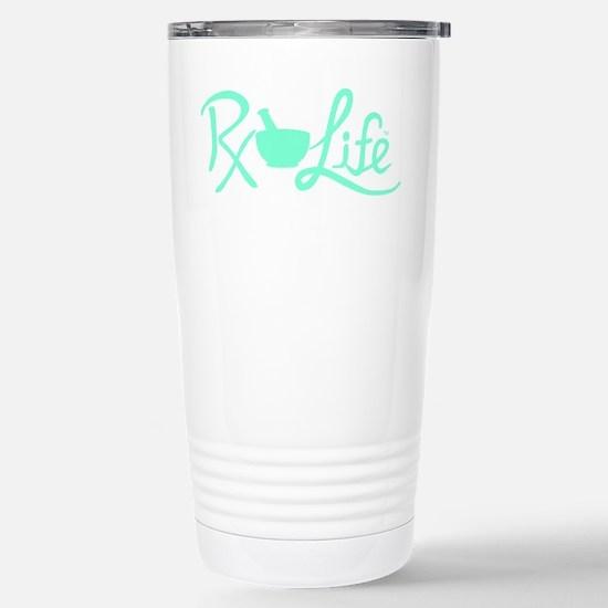 Aqua Rx Life Stainless Steel Travel Mug