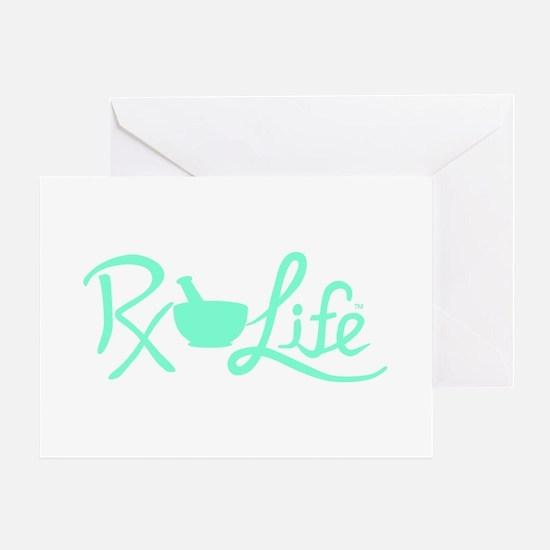 Aqua Rx Life Greeting Card