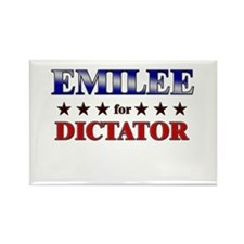 EMILEE for dictator Rectangle Magnet