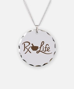 Brown Rx Life Necklace