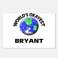 World's Okayest Bryant Postcards (Package of 8)