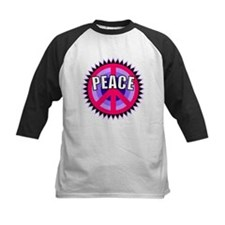 Pink Peace Sign Tee