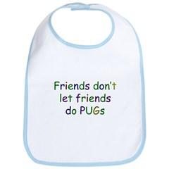Friends and PUGs Bib