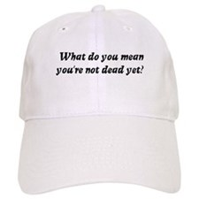 What do you mean, you're not Baseball Cap