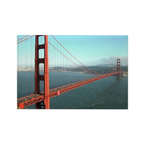 Golden Gate Bridge - Rectangle Magnet