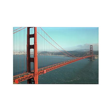 Golden Gate Bridge - Rectangle Magnet (10 pack)