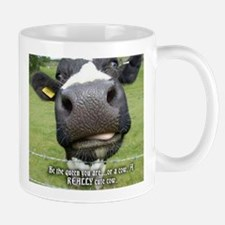 Queen cow Mugs