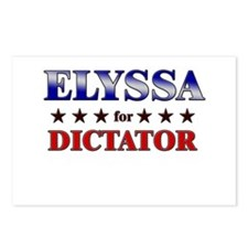 ELYSSA for dictator Postcards (Package of 8)