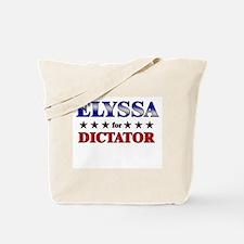 ELYSSA for dictator Tote Bag