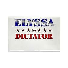 ELYSSA for dictator Rectangle Magnet