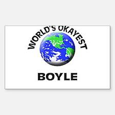 World's Okayest Boyle Decal