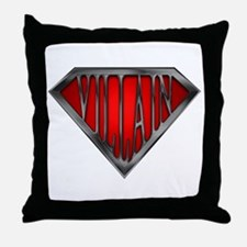 Super Villain Throw Pillow