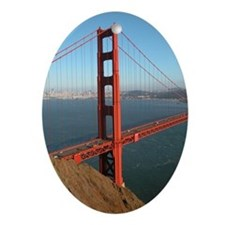 Golden Gate Bridge - Gift Ornament/Keepsake Oval