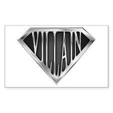 SuperVillain(metal) Rectangle Decal