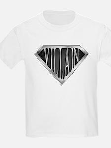 SuperVillain(metal) T-Shirt