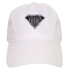 SuperVillain(metal) Baseball Cap