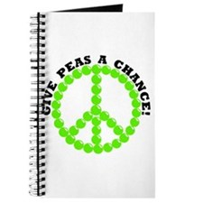 Give Peas A Chance Journal