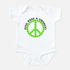 Give Peas A Chance Infant Bodysuit