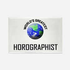 World's Greatest HOROGRAPHIST Rectangle Magnet