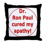 Ron Paul cure-3 Throw Pillow