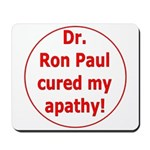 Ron Paul cure-3 Mousepad