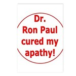 Ron Paul cure-3 Postcards (Package of 8)