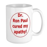 Ron Paul cure-3 Large Mug