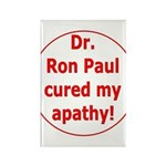 Ron Paul cure-3 Rectangle Magnet