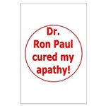Ron Paul cure-3 Large Poster