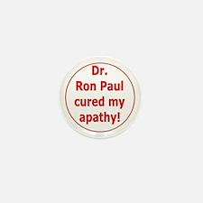 Ron Paul cure-3 Mini Button