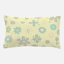 Floral soft pattern Pillow Case
