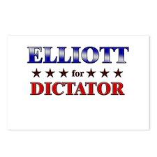 ELLIOTT for dictator Postcards (Package of 8)
