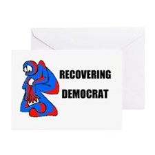 RECOVERING DEMOCRAT Greeting Cards (Pk of 10)