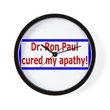 Ron Paul cure-4 Wall Clock
