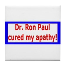 Ron Paul cure-4 Tile Coaster