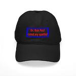 Ron Paul cure-4 Black Cap