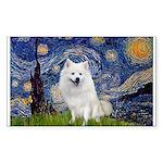 Starry-Am. Eskimo Dog Sticker (Rectangle)