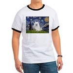 Starry-Am. Eskimo Dog Ringer T