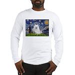 Starry-Am. Eskimo Dog Long Sleeve T-Shirt